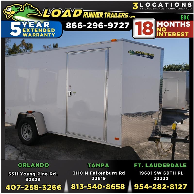 *E3C* 6x10 Enclosed Cargo Trailer |LRT Haulers & Trailers 6 x 10 | EV6-10S3-R