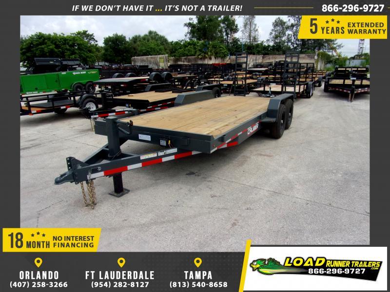 *115524* 7x20 Equipment Trailer |LRT Tandem Axle Trailers 7 x 20