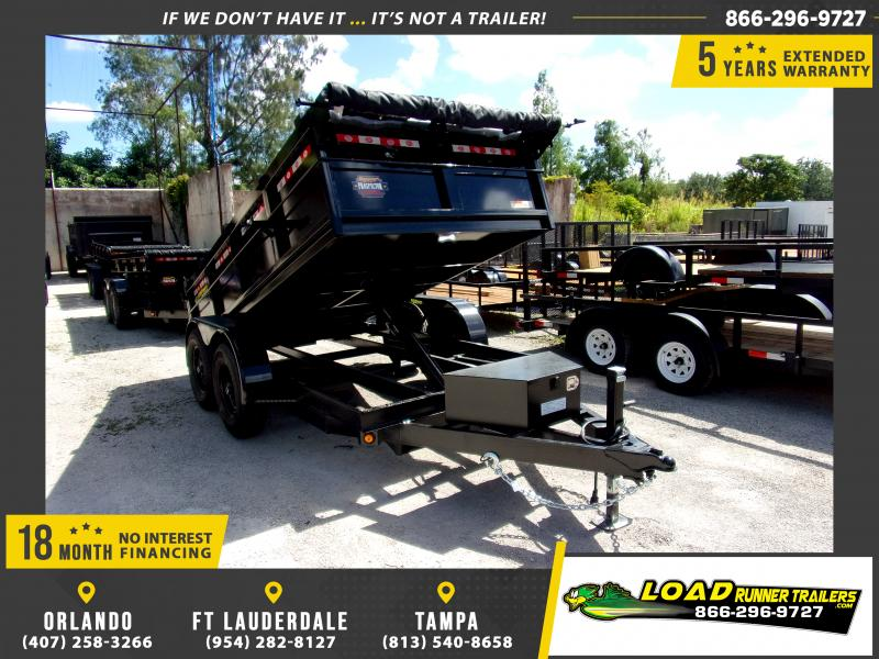 *115947* 6x12 5 TON Dump Trailer W/Torsion Axles 6 x 12