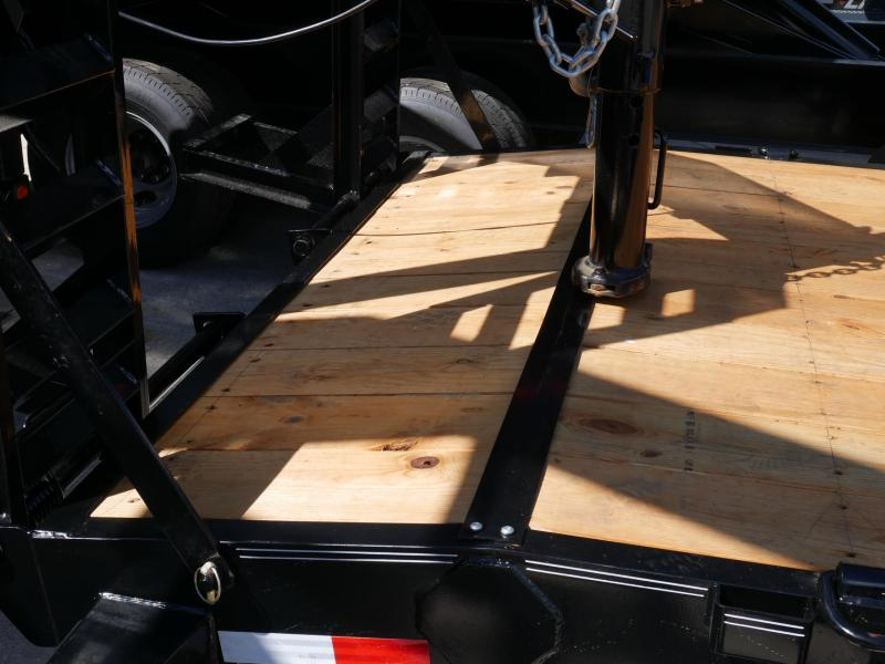 *EQ18* 7x24 10 TON Equipment & Car Hauler Trailer |LR Trailers 7 x 24 | EQ83-24TT7-MPD