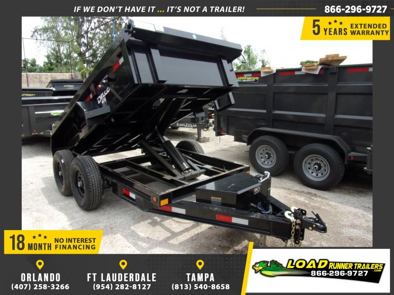 *114408* 5x10 6 TON Dump Trailer |LRT Dumps and Trailers 5 x 10