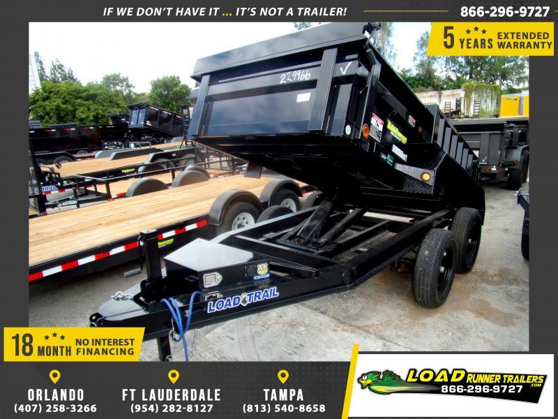 *114463* 5x10 Dump Trailer |LRT Tandem Axle Trailers 5 x 10