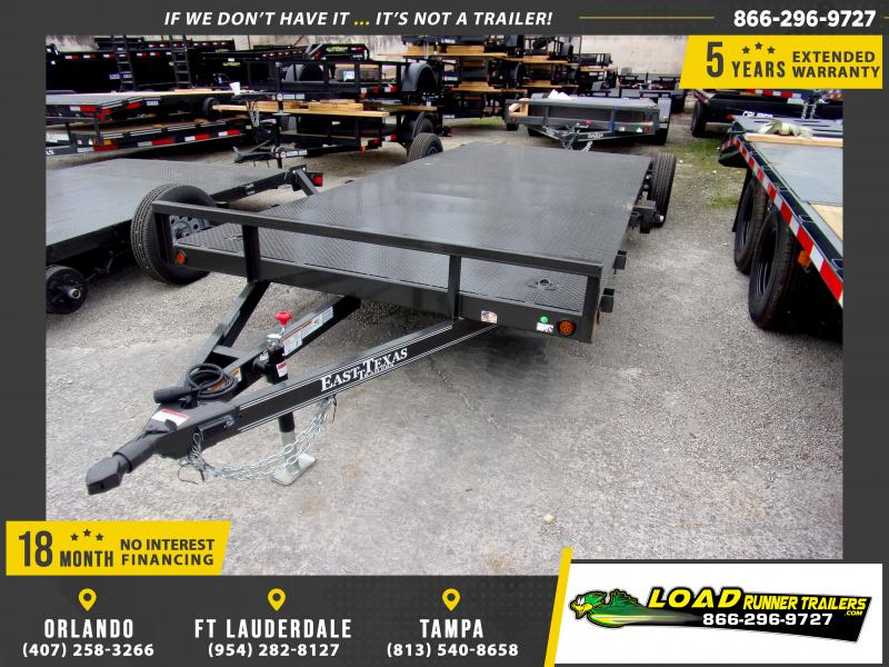 *112895* 7x18 Car Trailer |LRT Tandem Axle Trailers 7 x 18