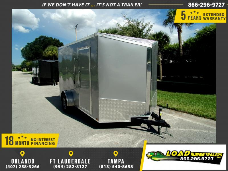 *110963* 7x12 Enclosed Cargo Trailer |LRT Haulers & Trailers 7 x 12
