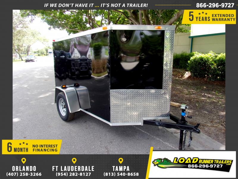 *111262* 5x8 Enclosed Cargo Trailer |LRT Haulers & Trailers 5 x 8