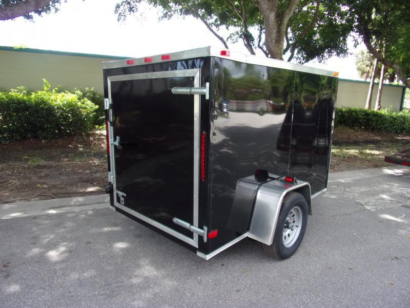 *111262* 5x8 Enclosed Cargo Trailer |LRT Haulers & Trailers 5 x 8