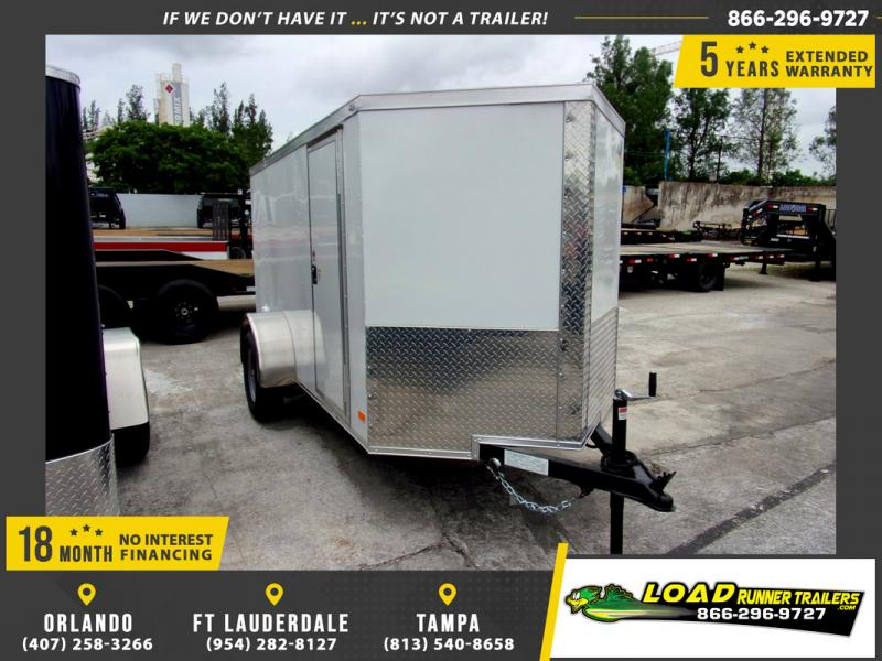 *109775* 5x10 Enclosed Cargo Trailer |LRT Haulers & Trailers 5 x 10