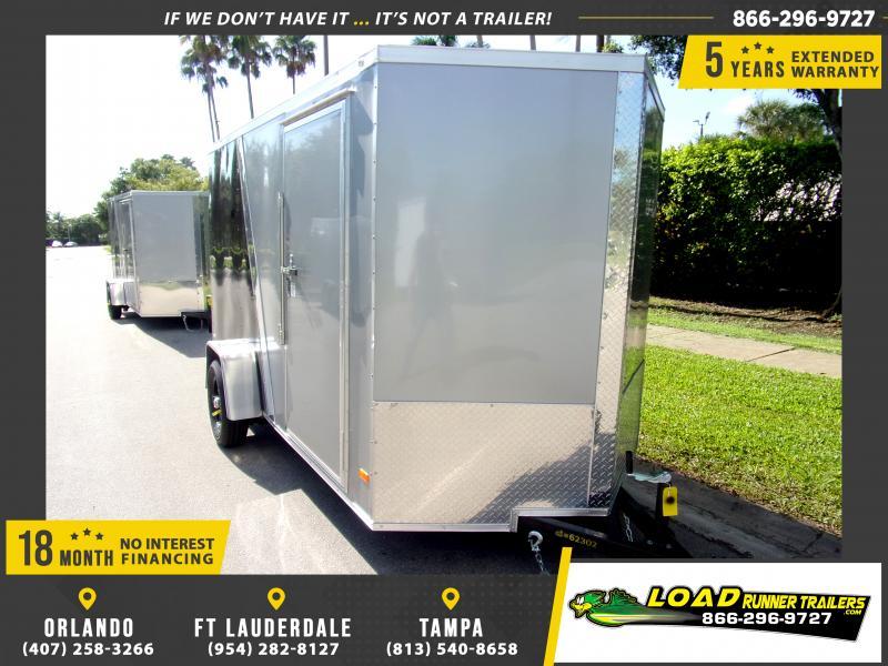 *110353* 6x12 Enclosed Cargo Trailer  LRT Haulers & Trailers 6 x 12