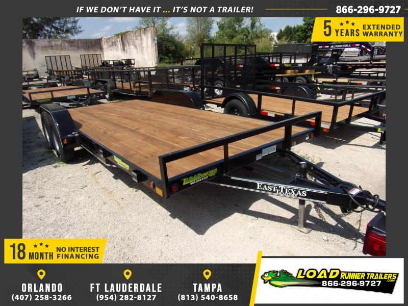 *113559* 7x18 Car Trailer |LRT Tandem Axle Trailers 7 x 18