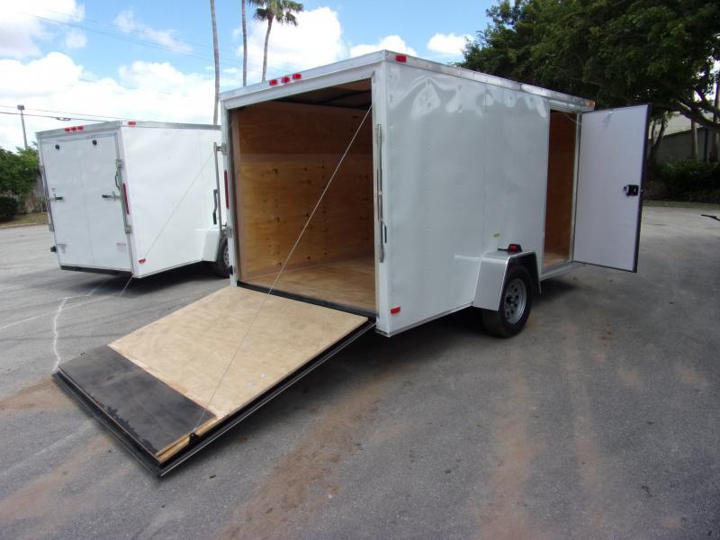 *113739* 7x12 Enclosed Cargo Trailer |LRT Haulers & Trailers 7 x 12