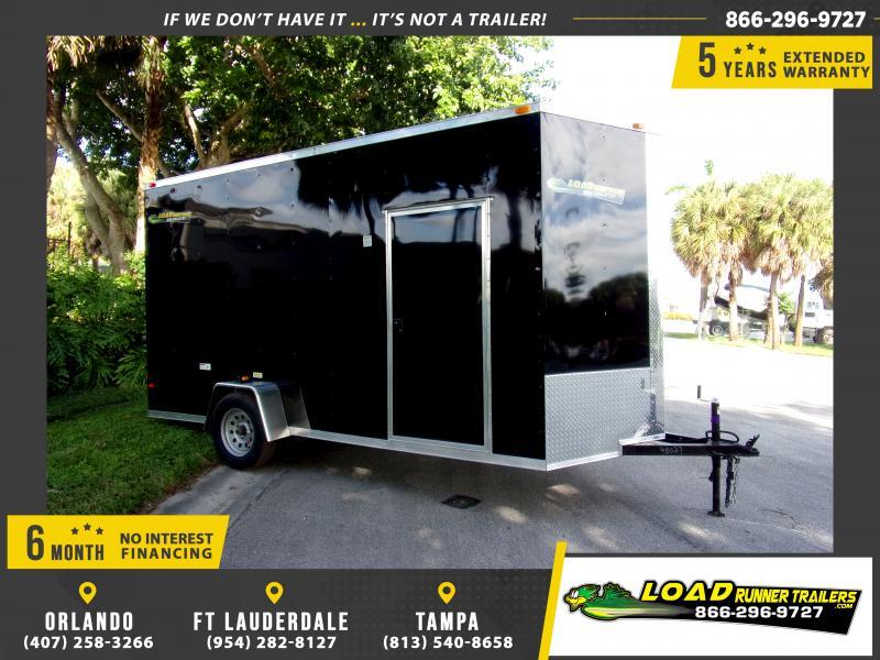 *112198* 6x14 Enclosed Cargo Trailer |LRT Haulers & Trailers 6 x 14