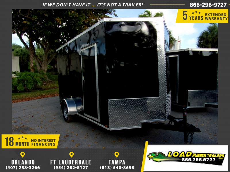 *114782* 7x12 Enclosed Cargo Trailer |LRT Haulers & Trailers 7 x 12