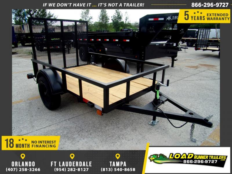 *113818* 5x8 Utility|Lawn|ATV|Multipurpose Trailer |LRT Haulers & Trailers 5 x 8
