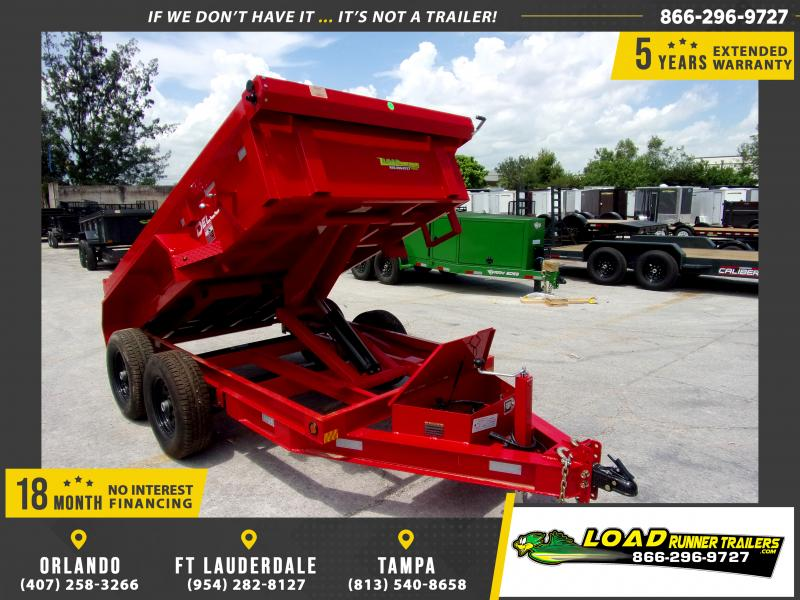 *116011* 5x10 6 TON Dump Trailer |LRT Dumps and Trailers 5 x 10