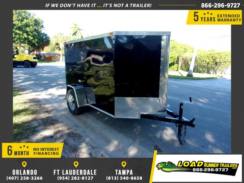 *112959* 5x8 Enclosed Cargo Trailer |LRT Haulers & Trailers 5 x 8