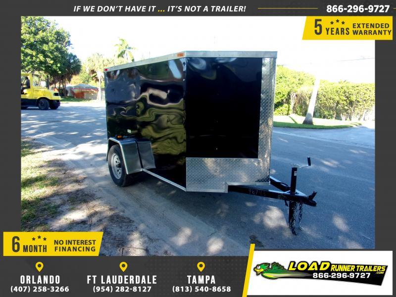 *112959* 5x8 Enclosed Cargo Trailer |LRT Haulers & Trailers 5 x 8