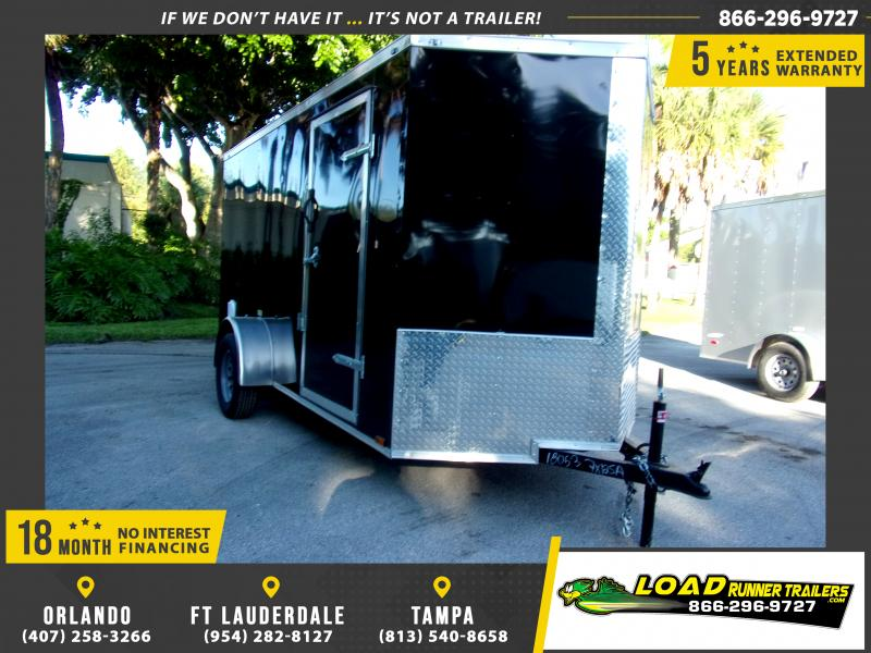 *111827* 6x12 Enclosed Cargo Trailer |LRT Haulers & Trailers 6 x 12