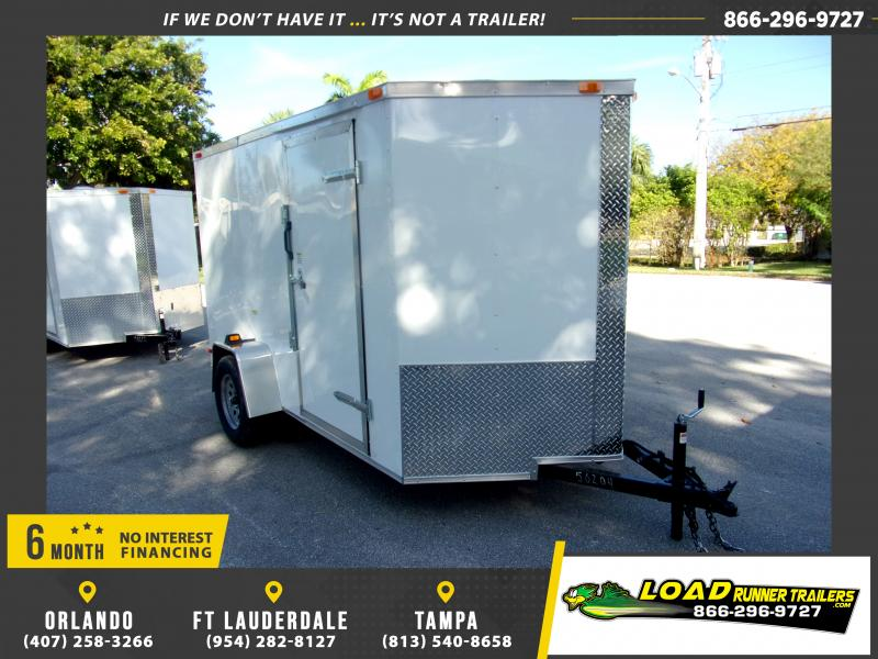 *116444* 6x10 Enclosed Cargo Trailer  LRT Haulers & Trailers 6 x 10