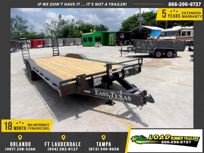 *116522* 8.5x24 Equipment Hauler Trailer |LRT Haulers & Trailers 8.5 x 24