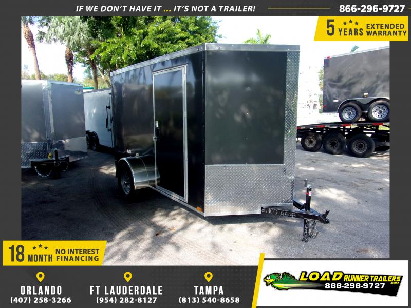 *112347* 6x10 Enclosed Cargo Trailer |LRT Haulers & Trailers 6 x 10