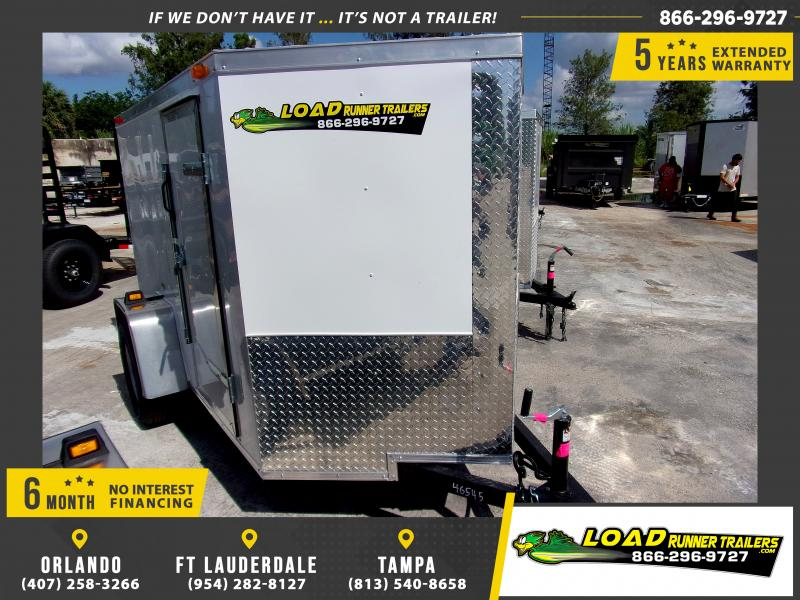 *114250* 5x8 Enclosed Cargo Trailer |LRT Haulers & Trailers 5 x 8