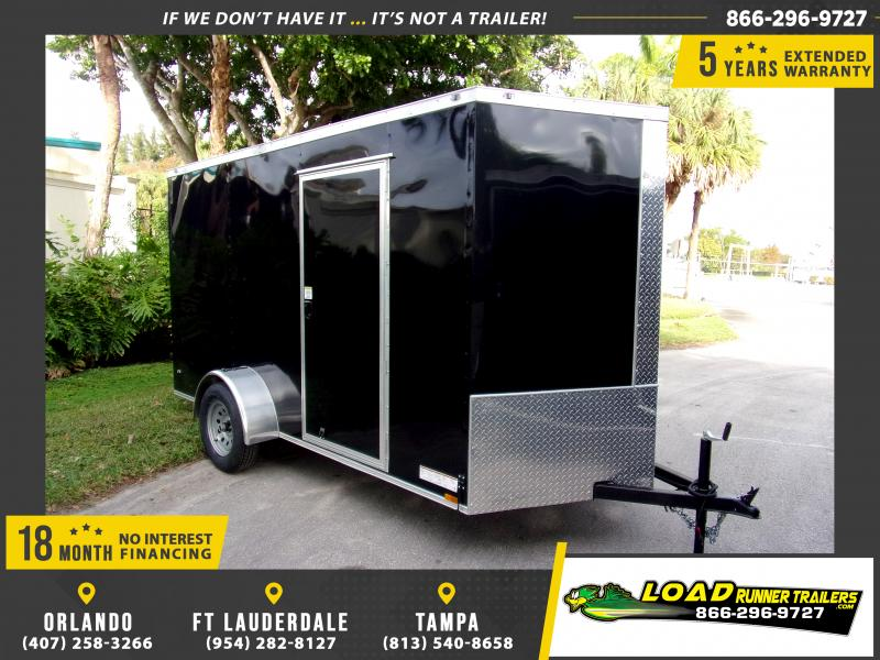 *113145* 6x12 Enclosed Cargo Trailer |LRT Haulers & Trailers 6 x 12