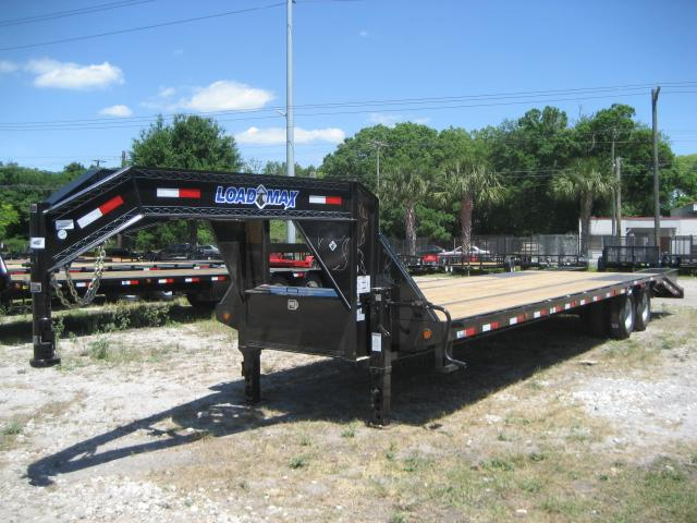 *FG60* 8.5x32 12 TON Flatbed Gooseneck Trailer |Deck Over Trailers 8.5 x 32 | FG102-32T12-LP/MPD