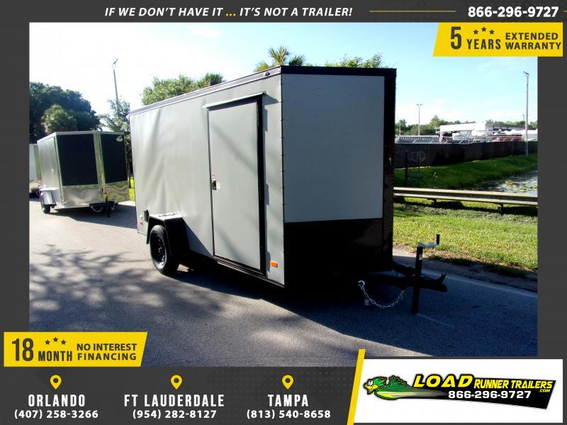 *115810* 6x12 Enclosed Cargo Trailer |LRT Haulers & Trailers 6 x 12