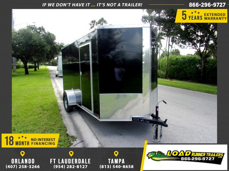 *114779* 6x12 Enclosed Cargo Trailer |LRT Haulers & Trailers 6 x 12