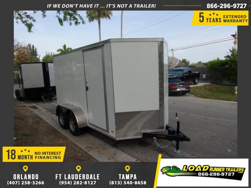 *114910* 6x12 Enclosed Cargo Trailer |LRT Tandem Axle Trailers 6 x 12