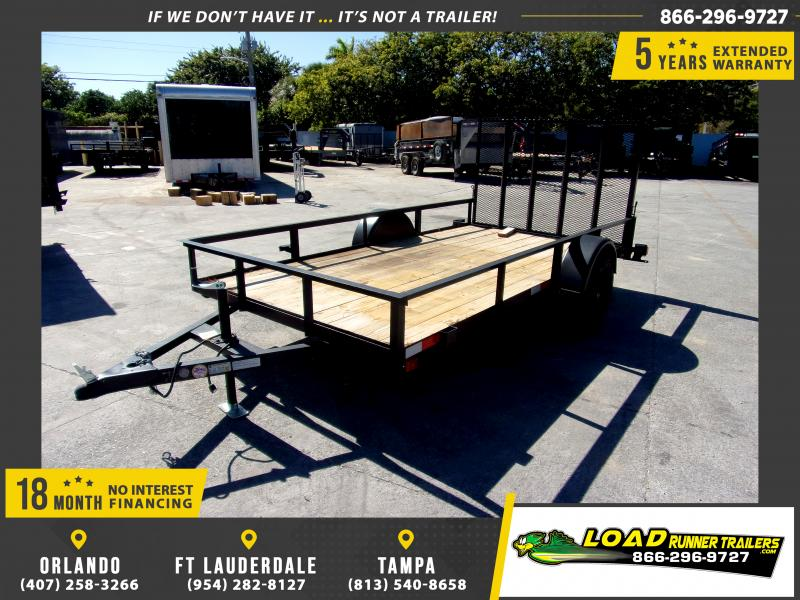 *112596* 6x12 Utility Lawn ATV Multipurpose Trailer  LRT Haulers & Trailers 6 x 12