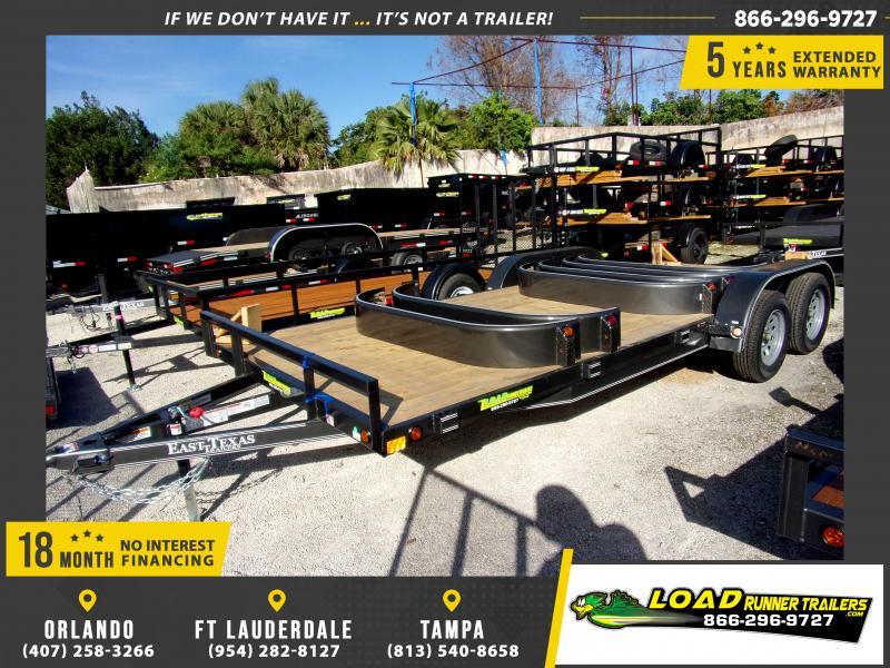 *112901* 7x20 Car Trailer |LRT Tandem Axle Trailers 7 x 20