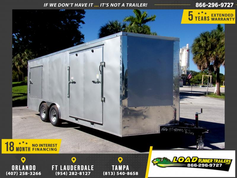 *112664* 8.5x20 Enclosed Cargo Trailer |LRT Tandem Axle Trailers 8.5 x 20