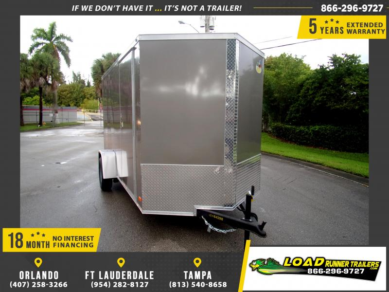 *111890* 6x12 Enclosed Cargo Trailer |LRT Haulers & Trailers 6 x 12