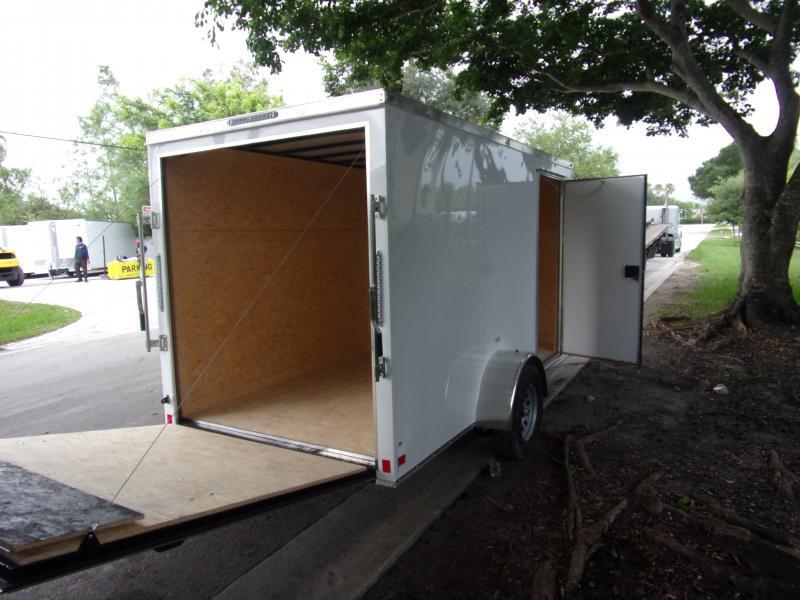 *116507* 6x12 Enclosed Cargo Trailer |LRT Haulers & Trailers 6 x 12