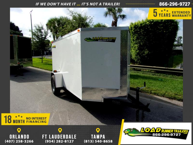 *110329* 5x10 Enclosed Cargo Trailer |LRT Haulers & Trailers 5 x 10