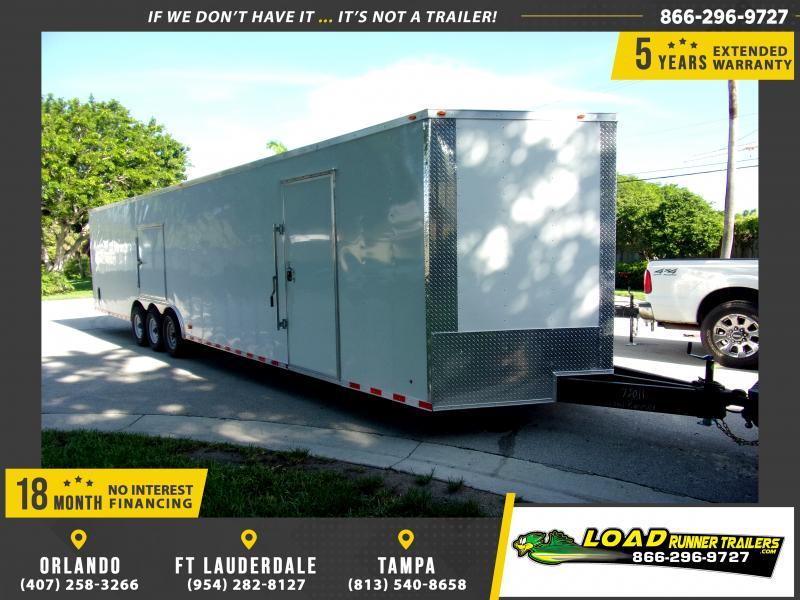 *116699* 8.5x36 Enclosed Cargo Trailer  LRT Tandem Axle Trailers 8.5 x 36