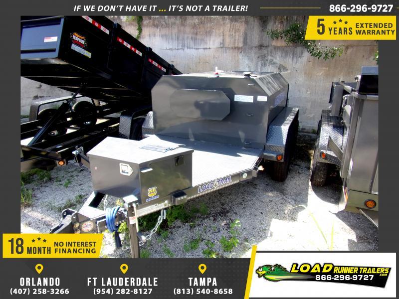 *116758* 5x11 550 Gallon Fuel Tank Trailer  LRT Tank Trailers 5 x 11