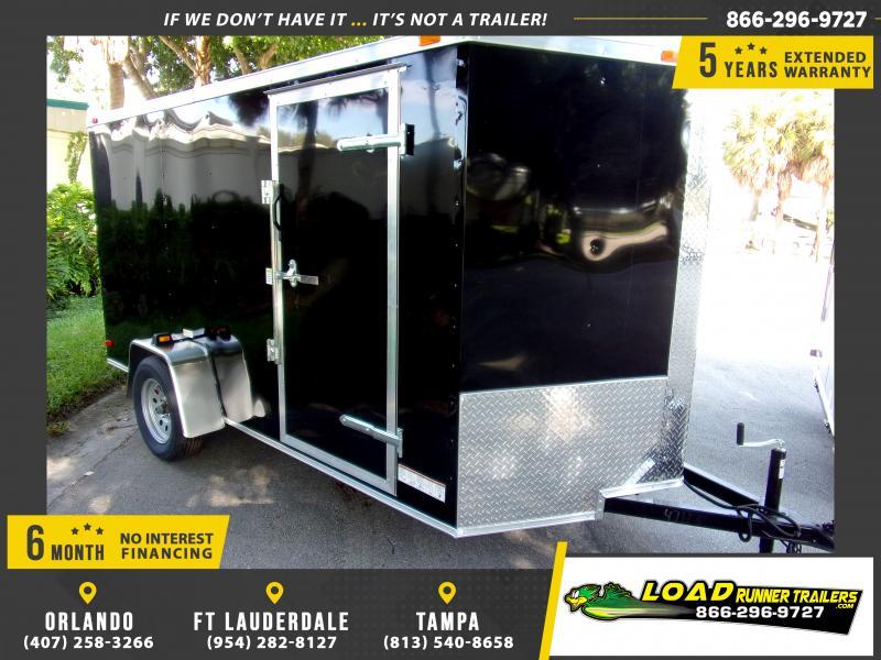 *111598* 6x12 Enclosed Cargo Trailer |LRT Haulers & Trailers 6 x 12