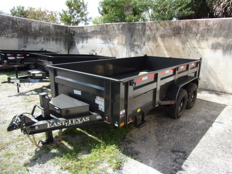 *115247* 7x14 Dump Trailer  LRT Tandem Axle Trailers 7 x 14