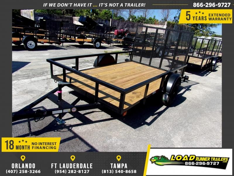 *113538* 6x10 Utility Lawn ATV Multipurpose Trailer  LRT Haulers & Trailers 6 x 10