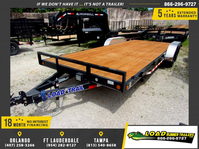 *110647* 7x20 Car Trailer |LRT Tandem Axle Trailers 7 x 20