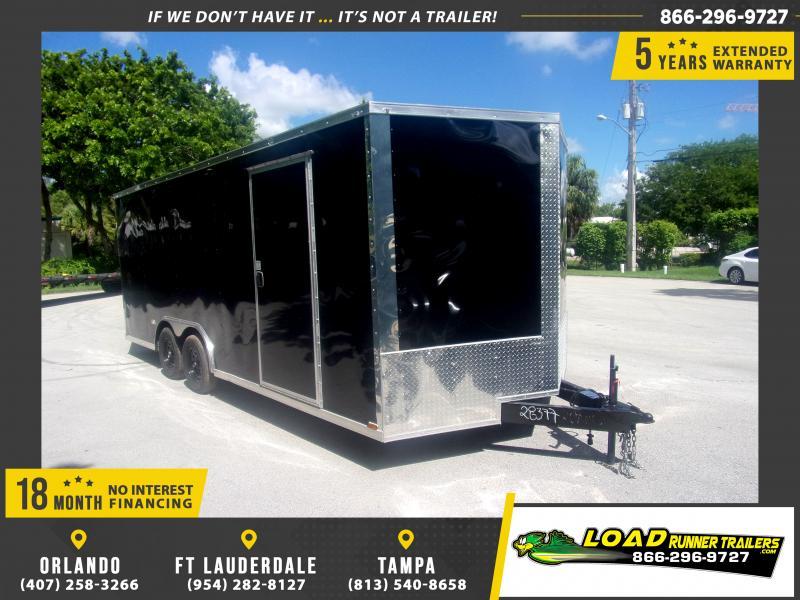 *117144* 8.5x20 Enclosed Cargo Trailer |LRT Tandem Axle Trailers 8.5 x 20