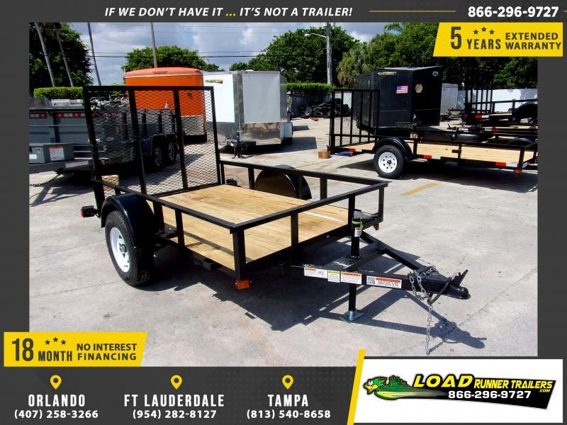 *116673* 5x8 Utility Lawn ATV Multipurpose Trailer  LRT Haulers & Trailers 5 x 8