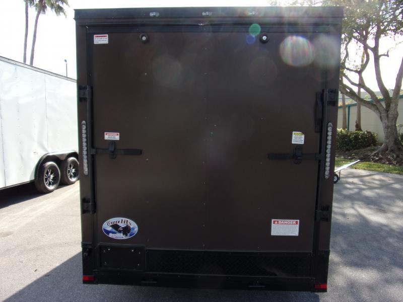 *114626* 6x12 Enclosed Cargo Trailer |LRT Haulers & Trailers 6 x 12