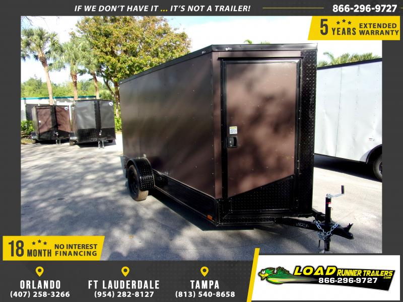 *114626* 6x12 Enclosed Cargo Trailer |LRT Haulers & Trailers 6 x 12