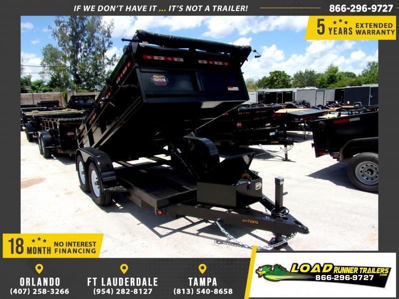 *115952* 6x12 5 TON Dump Trailer W/Torsion Axles 6 x 12