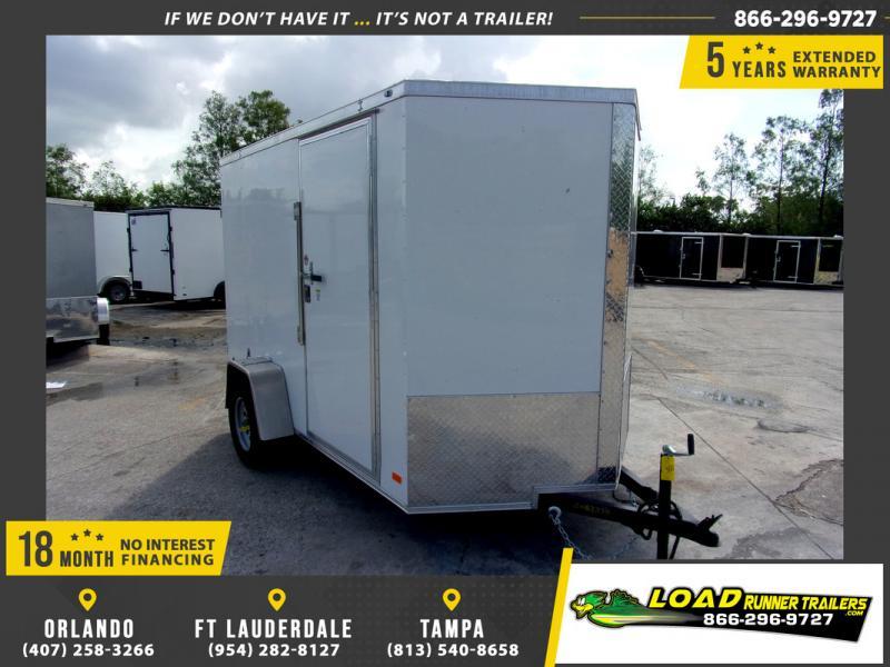 *110294* 6x10 Enclosed Cargo Trailer |LRT Haulers & Trailers 6 x 10