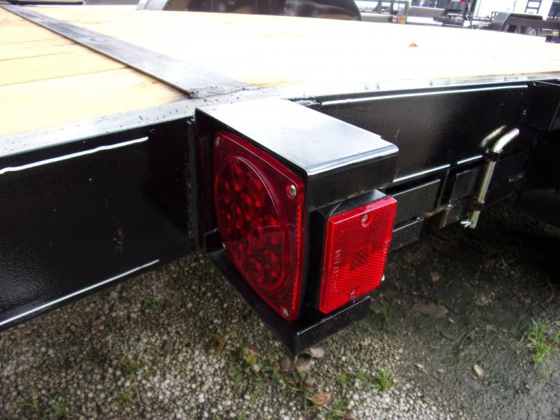 *112251* 7x18 Car Trailer  LRT Tandem Axle Trailers 7 x 18