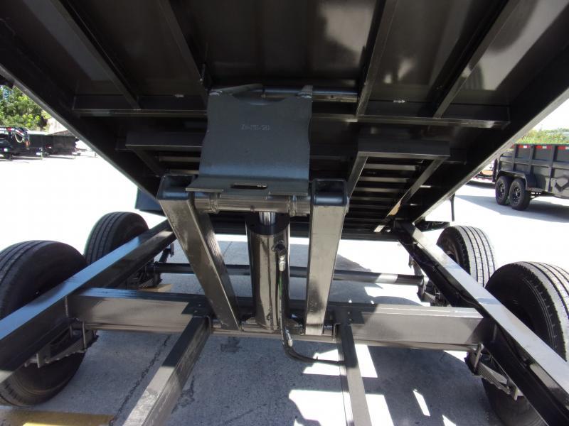 *111781* 7x14 Dump Trailer |LRT Tandem Axle Trailers 7 x 14